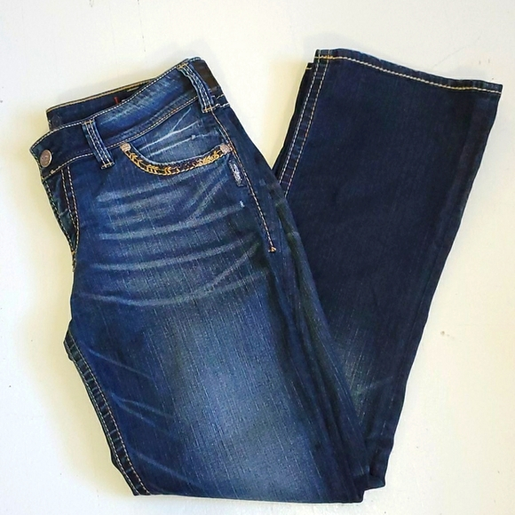 Silver Suki mid rise slim bootcut jeans